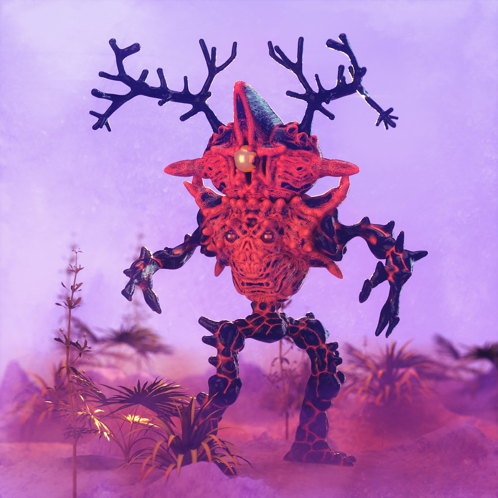 Demon Bug Warrior