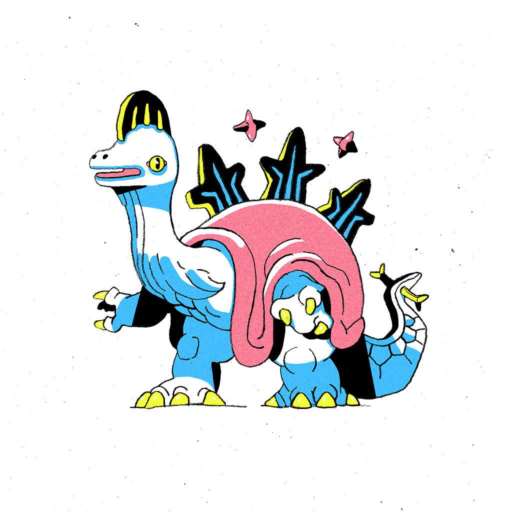 Sparklesaurus Wizard