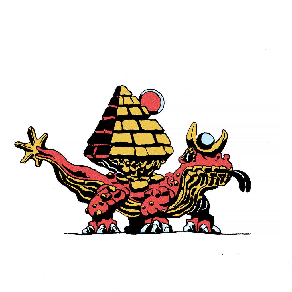 Egyptian Lizard Wizard