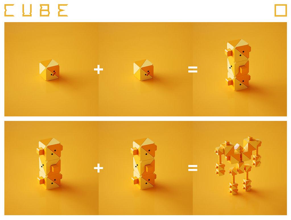 CUBExCUBE Level 1-3