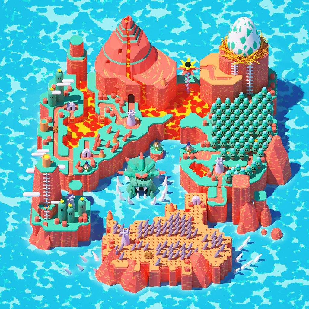 Super Mario World 3D (Prehistory)