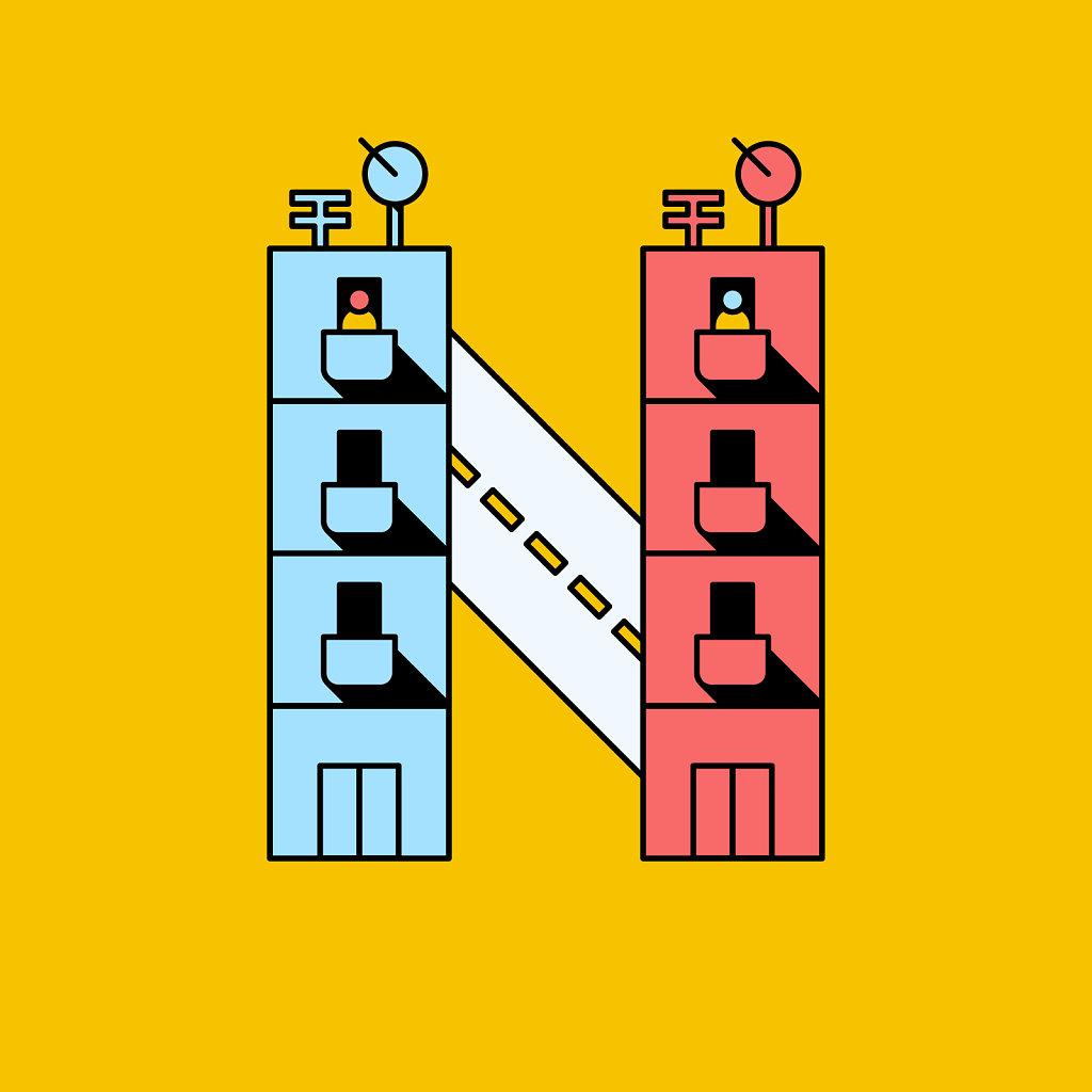 N for Neighobur